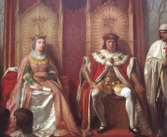 Los reyes católicos se casan