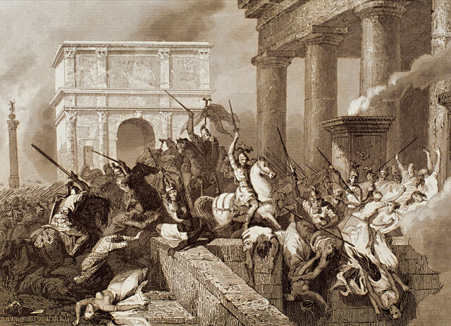 Caída de Imperio Romano