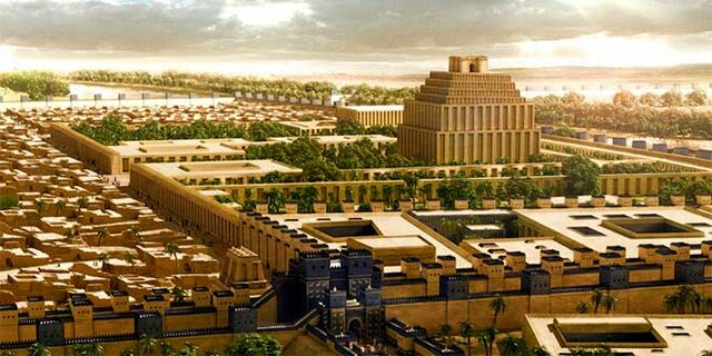 Creacion de la ciudad de Babilonia