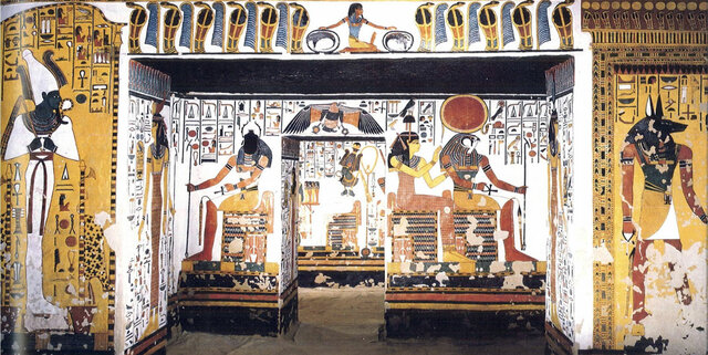 Egipto - Tumba de Nefertari
