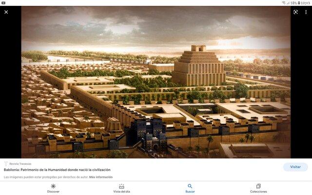 Creacion dela ciudad de babilona