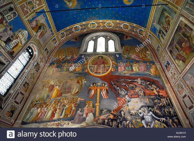 Edad Media - Capilla Scrovegni de Padua (Giotto)