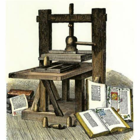 La invención de la imprenta
