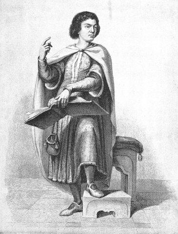 Pedro Abelardo (1079 d.C - 1142 d. C)