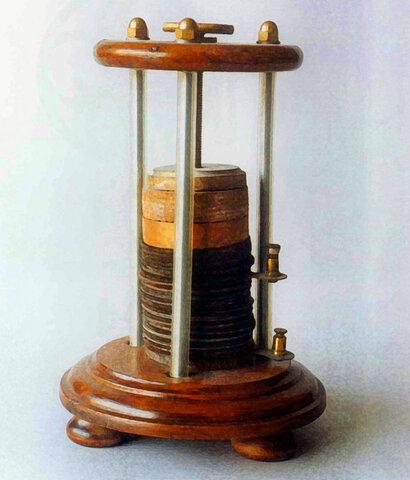 La invención de la pila de volta