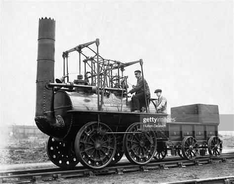 Invención de la locomotora de Stephenson
