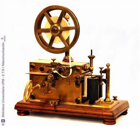 La invención de el telégrafo de Morse