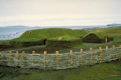 Arrivée des Vikings à l'Anse au Meadows