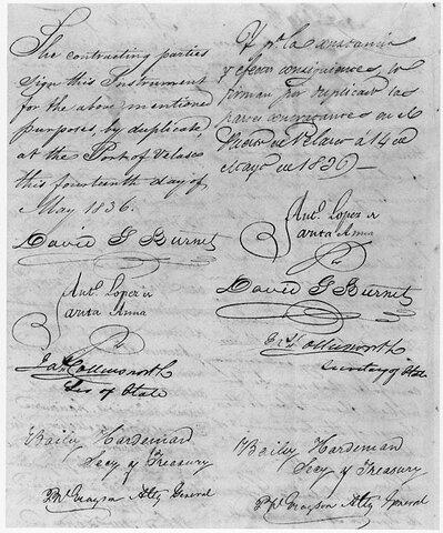 El tratado de Velasco