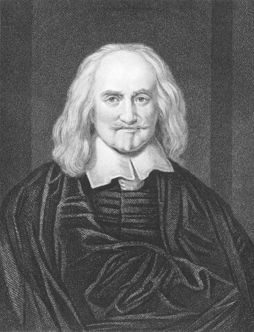 Thomas Hobbes ( 1588 d.C - 1679 d.C)