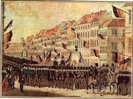Restauración: Tercer Oleada Revolucionaria 1848