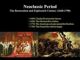 The Neoclassical Period (1600–1785)
