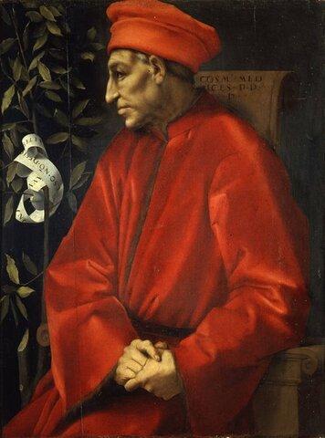 La gran empresa de Cósimo de Medici de Florencia.