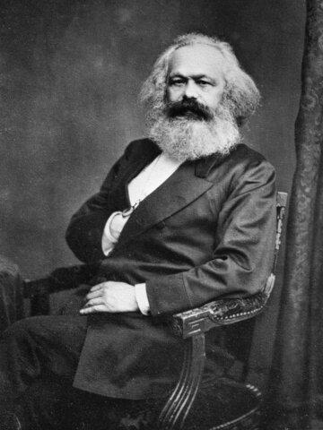 Karl Marx ( 1818 hasta 1883 )