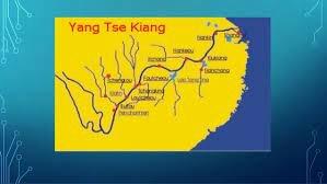 Ríos (Hoang- Ho, Yang-Tsé-Kiang y el Si-Kiang)