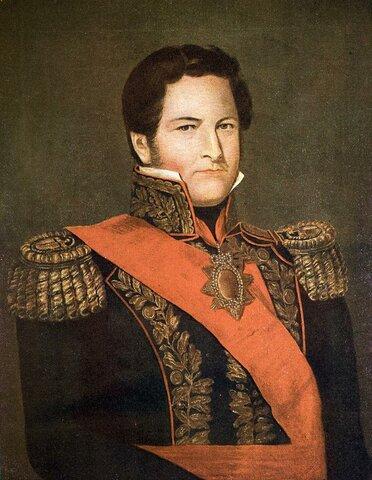 Primer gobierno de Juan Manuel de Rosas en Buenos Aires.