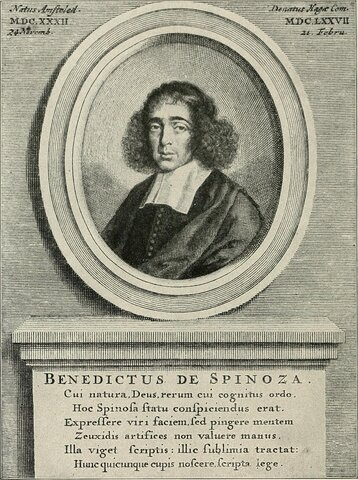 Baruch Spinoza ( 1632 hasta 1677 )