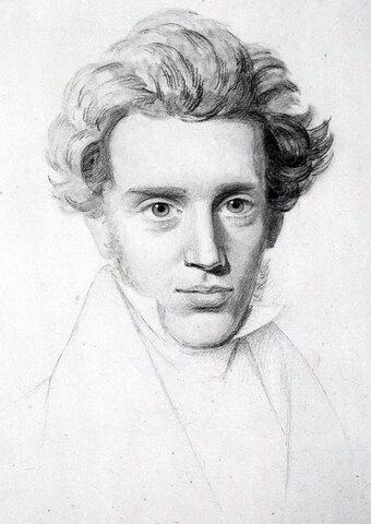 Søren Kierkegaard ( 1813 hasta 1855 )