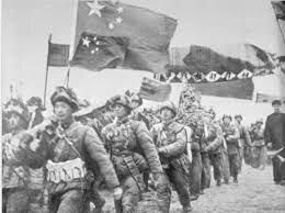 El asalto de los Chinos en el conflicto de la Guerra de Corea