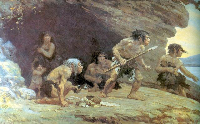 El Paleolítico ... Hace 2.5 millones de años