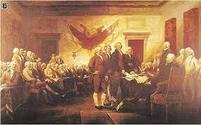 Υπογραφή Διακήρυξης Αμερικανικής Ανεξαρτησίας