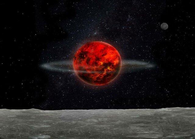 4:00 AM - Formación de la luna