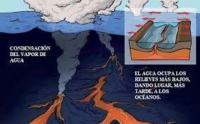 7:00 AM - formación de los océanos