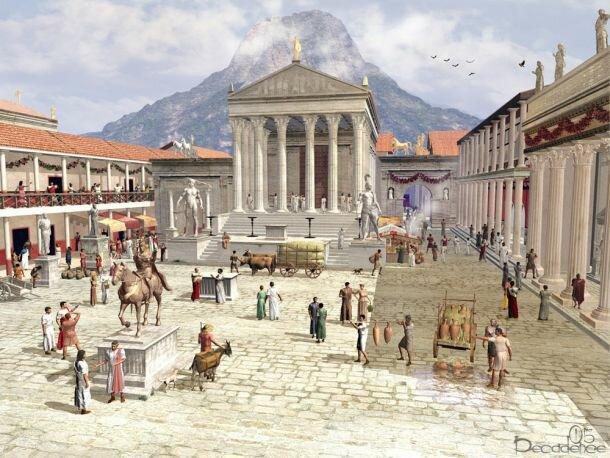 El Mundo Romano:   Marco Terencio Varrón  (116-27 a. C.).