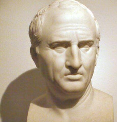 Cicerón (106 - 43 a.C.)
