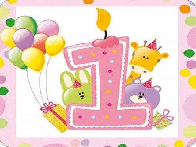 il mio primo compleanno