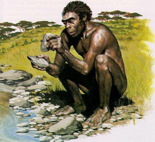 Esimene perekond Homo esindaja ja tööriistu kasutav inimene ehk Homo habilis