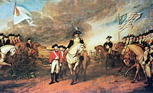 British leave Yorktown