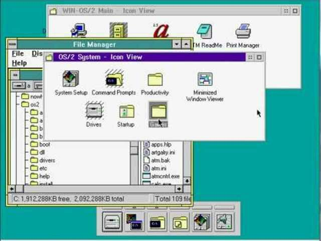 OS/2 Warp 3