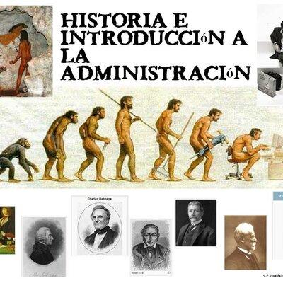 orígenes y evolución de la administración   timeline