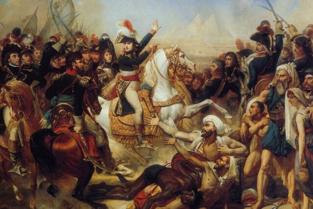 Napoleon took control of the government