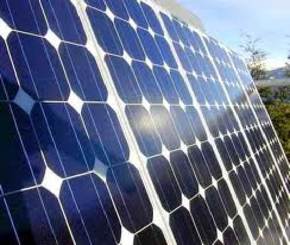 solar power was first invented