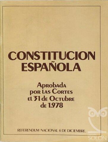 Se aprueba la constitución