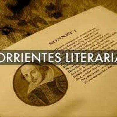 Corrientes literarias timeline