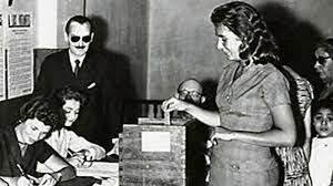 Legalización voto femenino