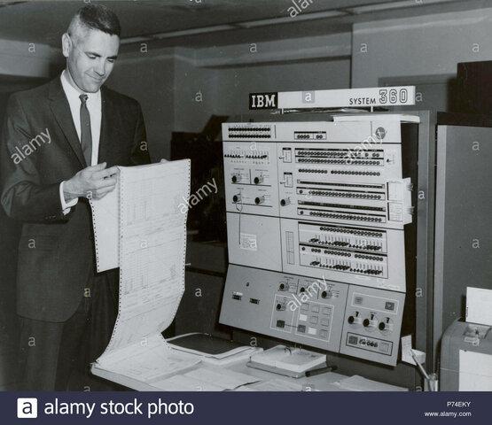 Tercera Generación de Computadoras - IBM 360