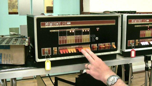 PDP-8  Primera minicomputadora