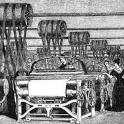 impactos sociales, económicos y ambientales de las máquinas en diferentes épocas. timeline