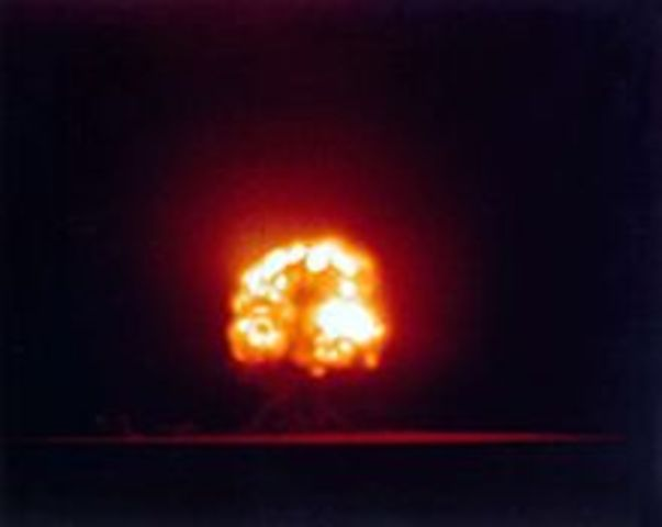 first nuclear weapon