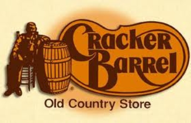 Dan Evins opens the first Cracker Barrel Old Country Store, a combination gas station/restaurant-store in Lebanon, Tennessee.