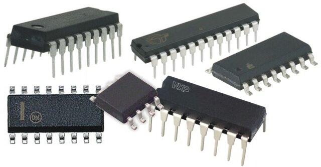 primer circuito de integración o chip