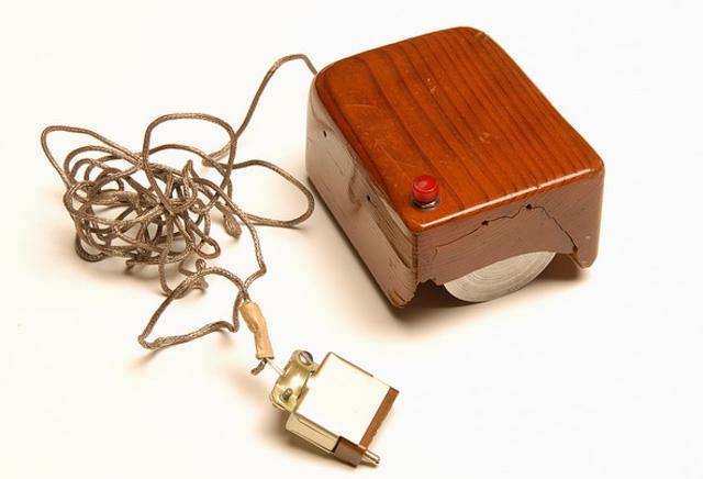 El primer raton electronico