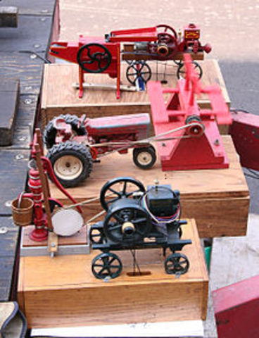 Alessandro Volta builds toy that uses electricity and chemical reaction to work