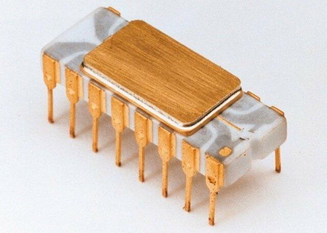 Intel 4004-O primer micro procesador