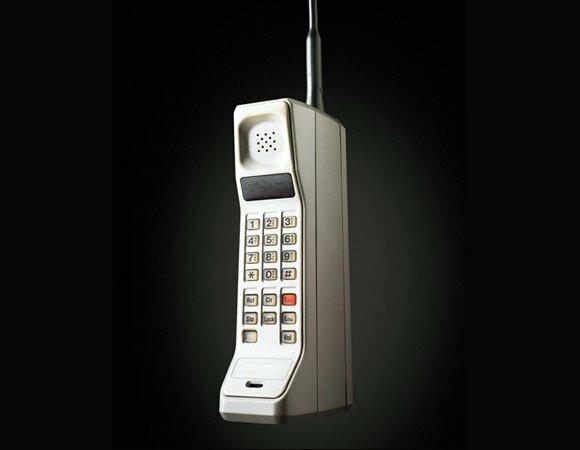 Primer Teléfono Móvil Motorola Dynatac 8000X