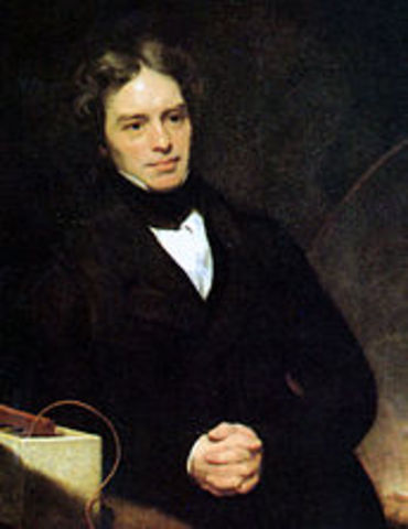 Michael Faraday invents the electric motor